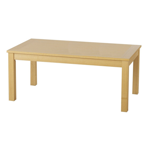 Classic Rectangle Coffee Table With Oak Veneer Finish Buy Coffee Tables Online Discount