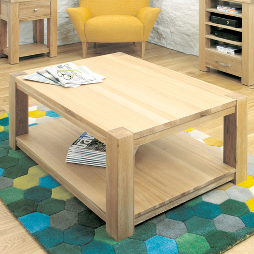 Large Modern Texas Coffee Table With Square Legs Buy