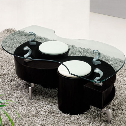 Lucca Contemporary Glass Coffee Table In Black Buy Coffee Tables Online Discount Coffee