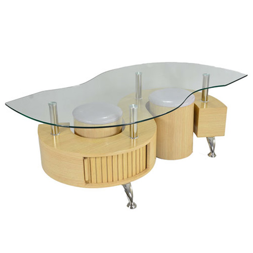 Lucca Contemporary Glass Coffee Table In Oak Buy Coffee Tables Online Discount Coffee Tables Uk