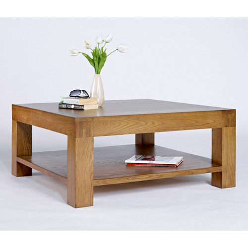 Nevada Square Chunky Wooden Coffee Table Buy Coffee Tables Online Discount Coffee Tables Uk