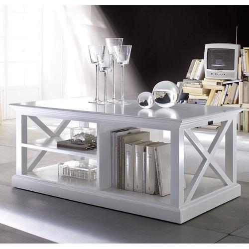new hampshire coffee table with elegant cornice design
